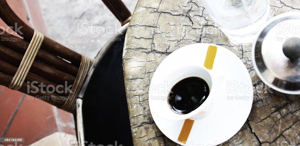 setting of arabic coffe stock photo