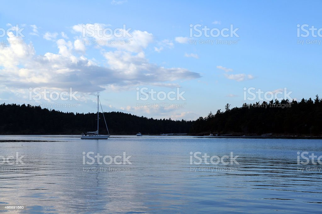 Setting Sail stock photo