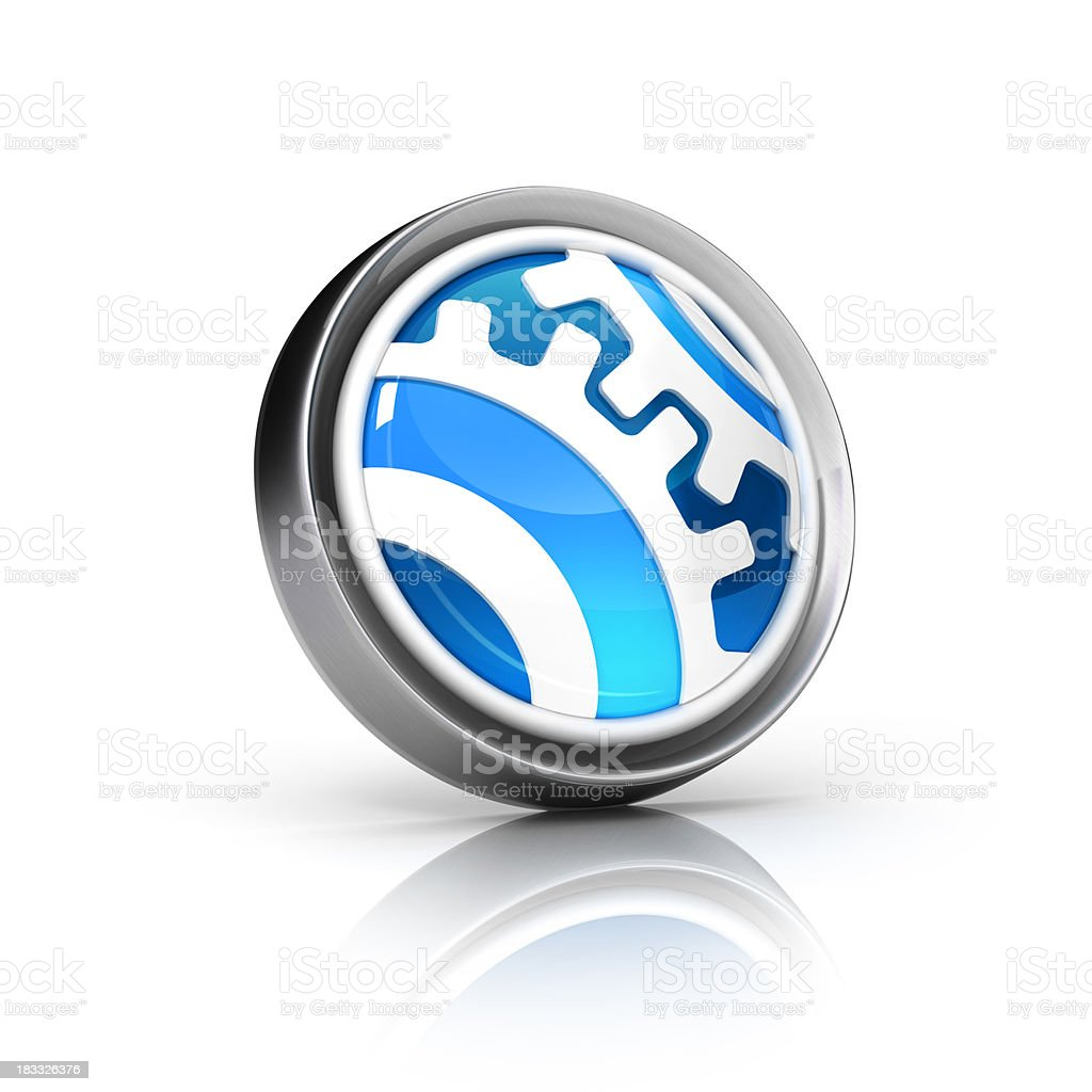 settings or support icon royalty-free stock photo