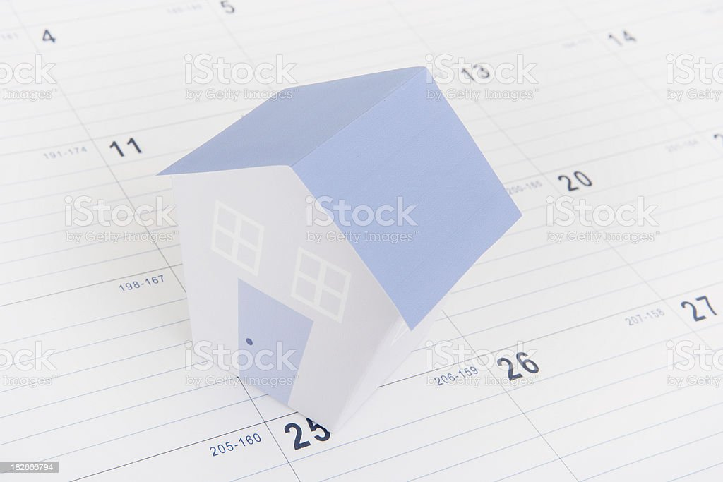 Settlement Day royalty-free stock photo