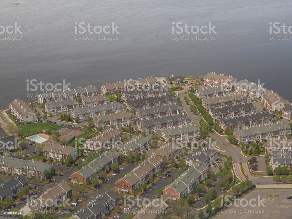 Settlement in New York royalty-free stock photo