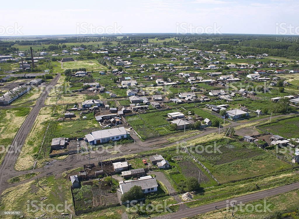 Settlement. royalty-free stock photo