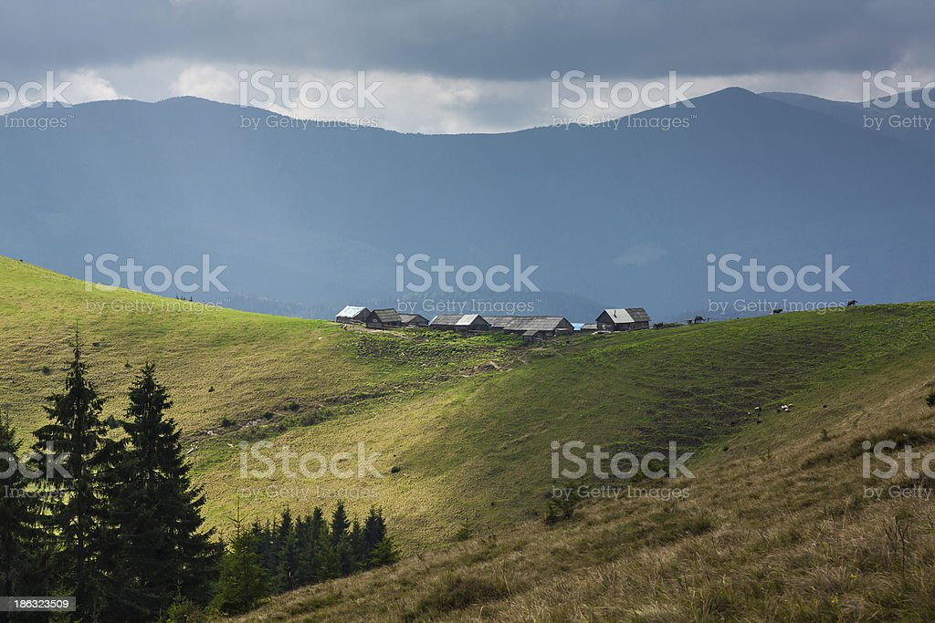 settlements royalty-free stock photo