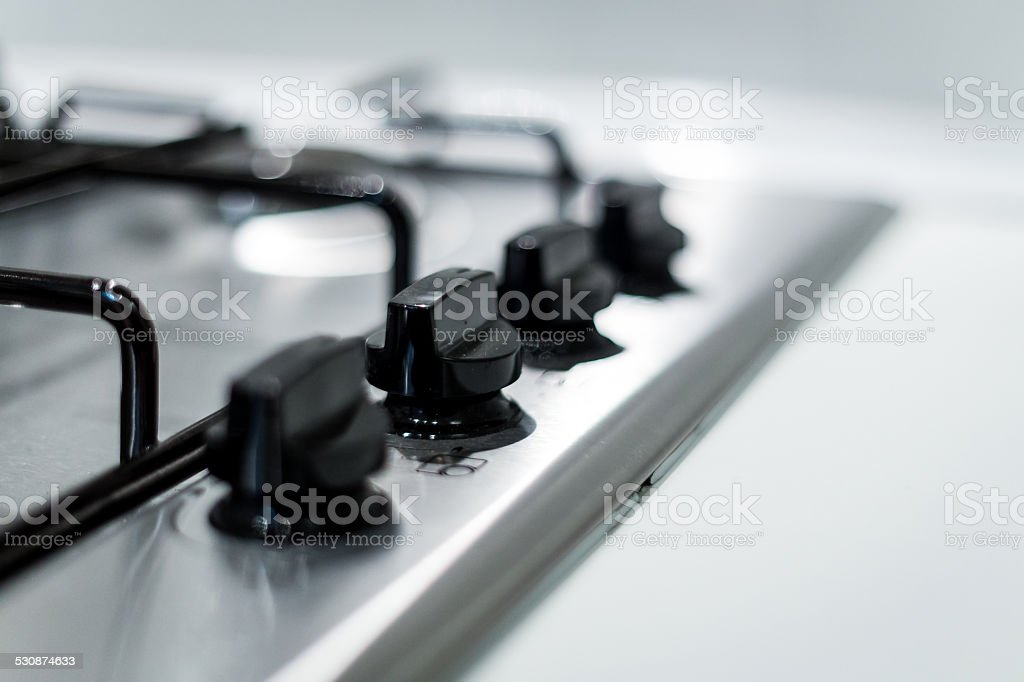 Set-top stove stock photo