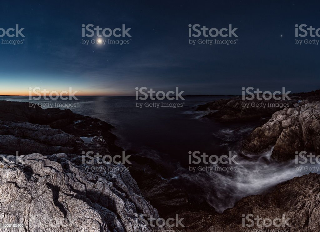 Seven Different Worlds stock photo