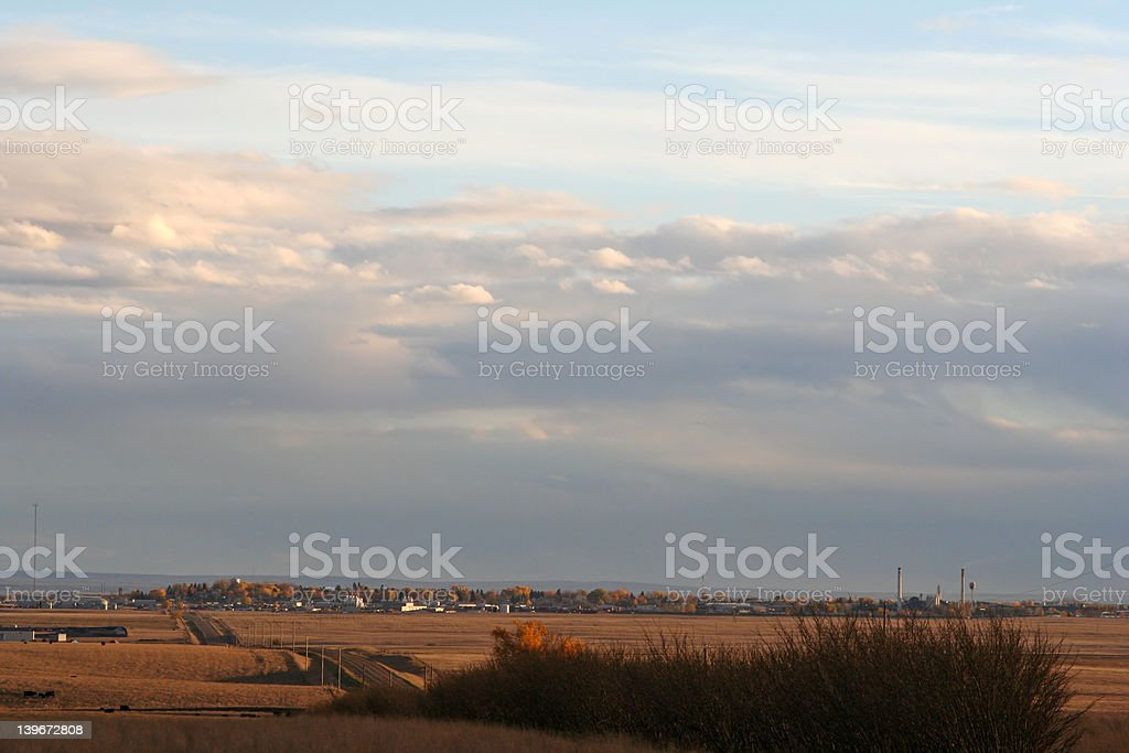 Seven km View royalty-free stock photo