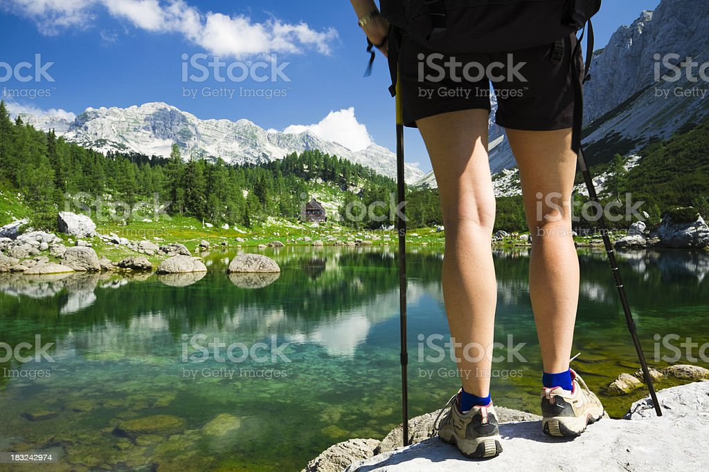 seven lakes royalty-free stock photo