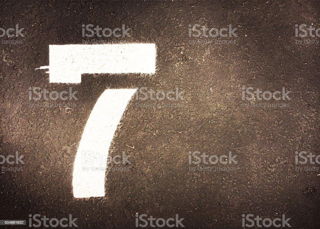 seven stock photo