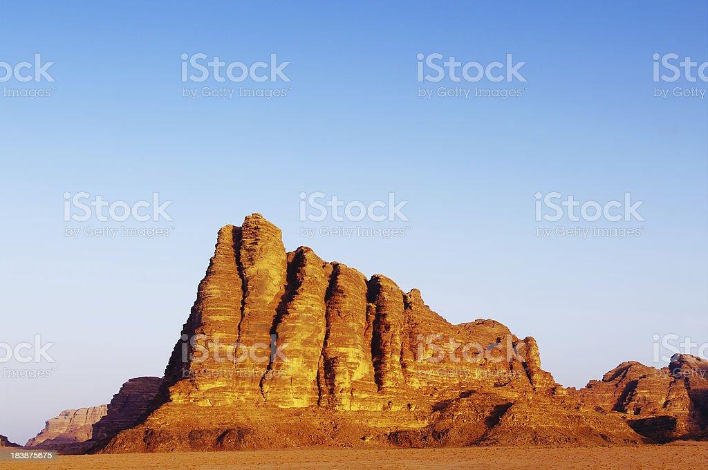 Seven pillars of wisdom stock photo