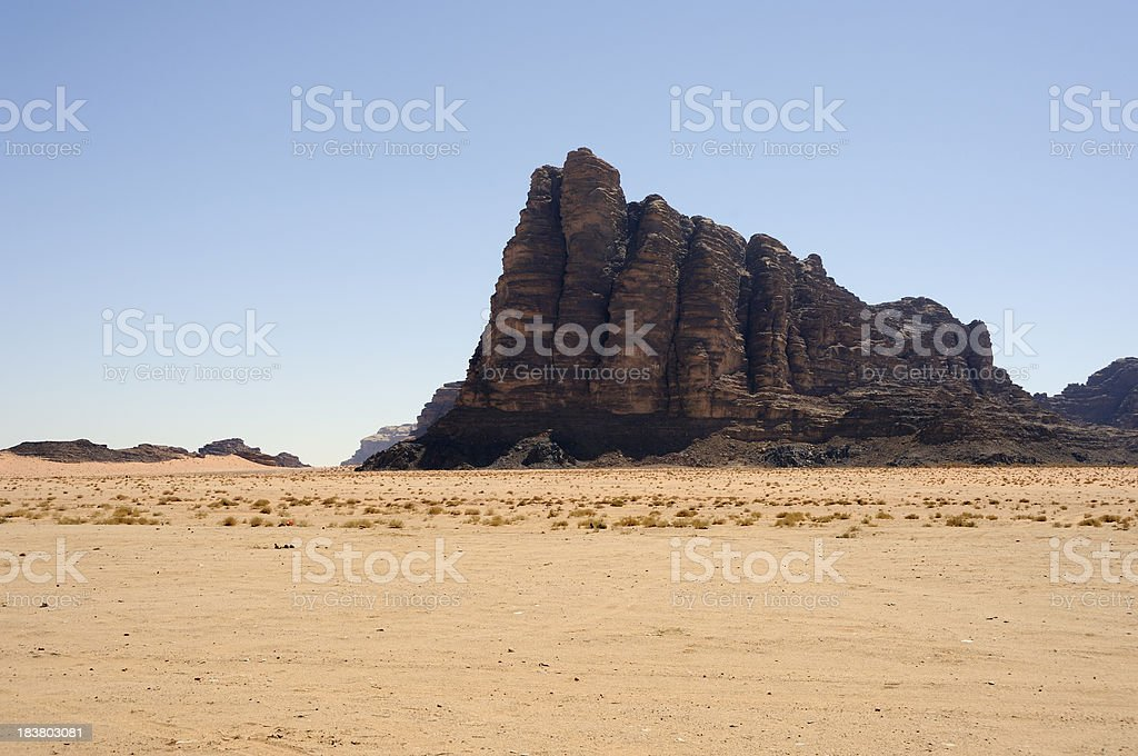 Seven pillars of wisdow stock photo