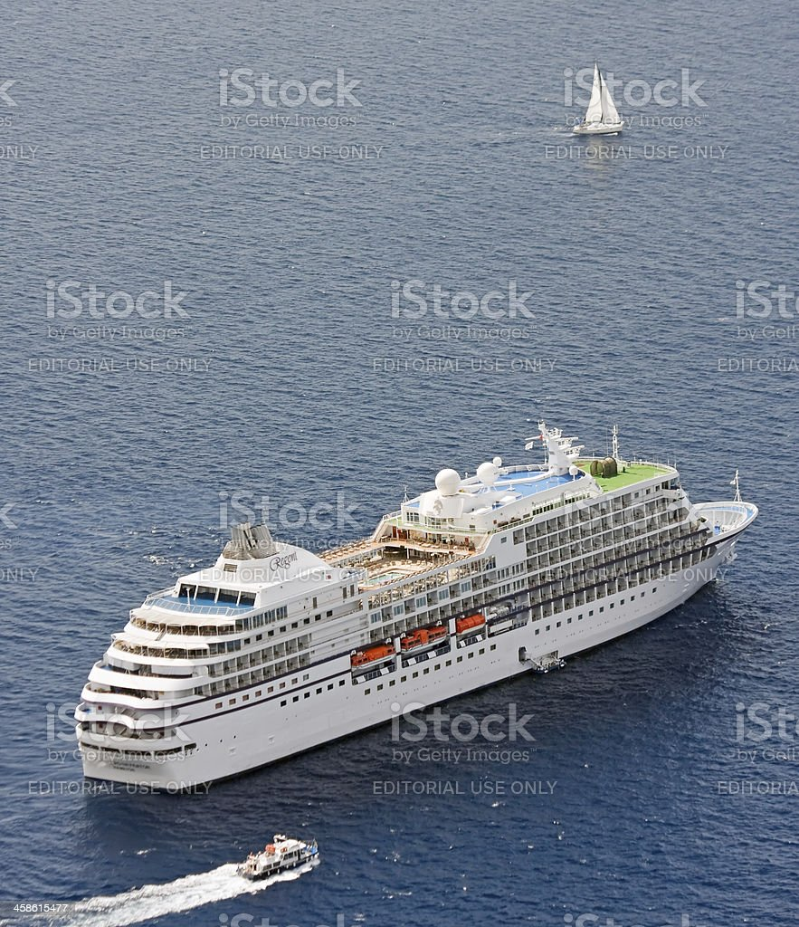 Seven Seas Navigator stock photo