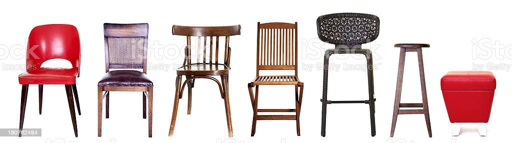 seven seat stock photo