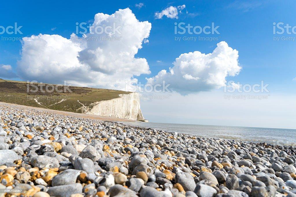 7 Seven Sisters, Brighton, England stock photo