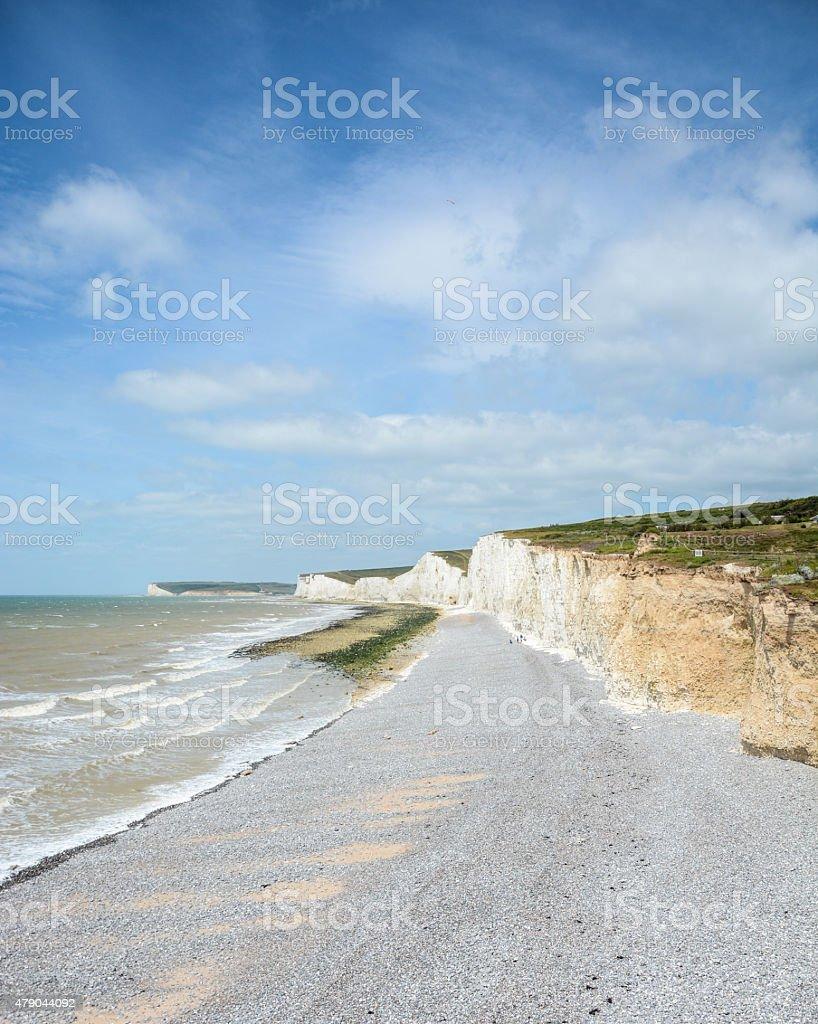 Seven Sisters Coast stock photo