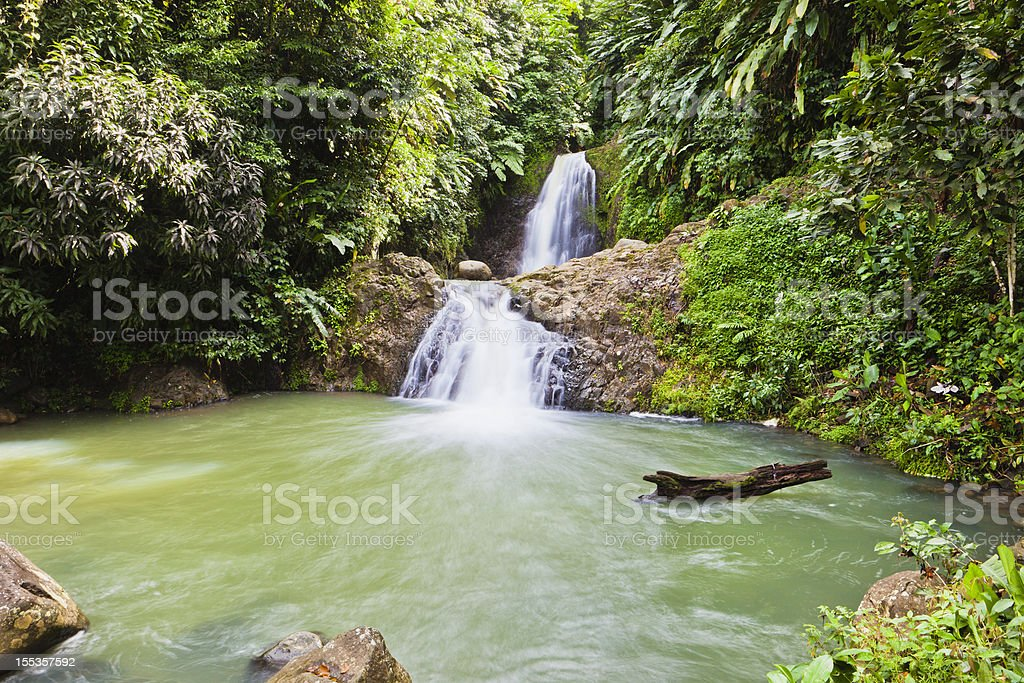 Seven Sisters Falls, Grenada royalty-free stock photo