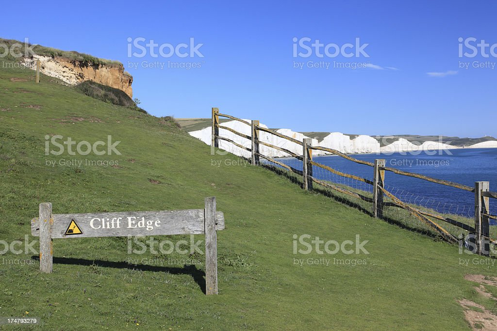 Seven Sisters, Sussex, England stock photo