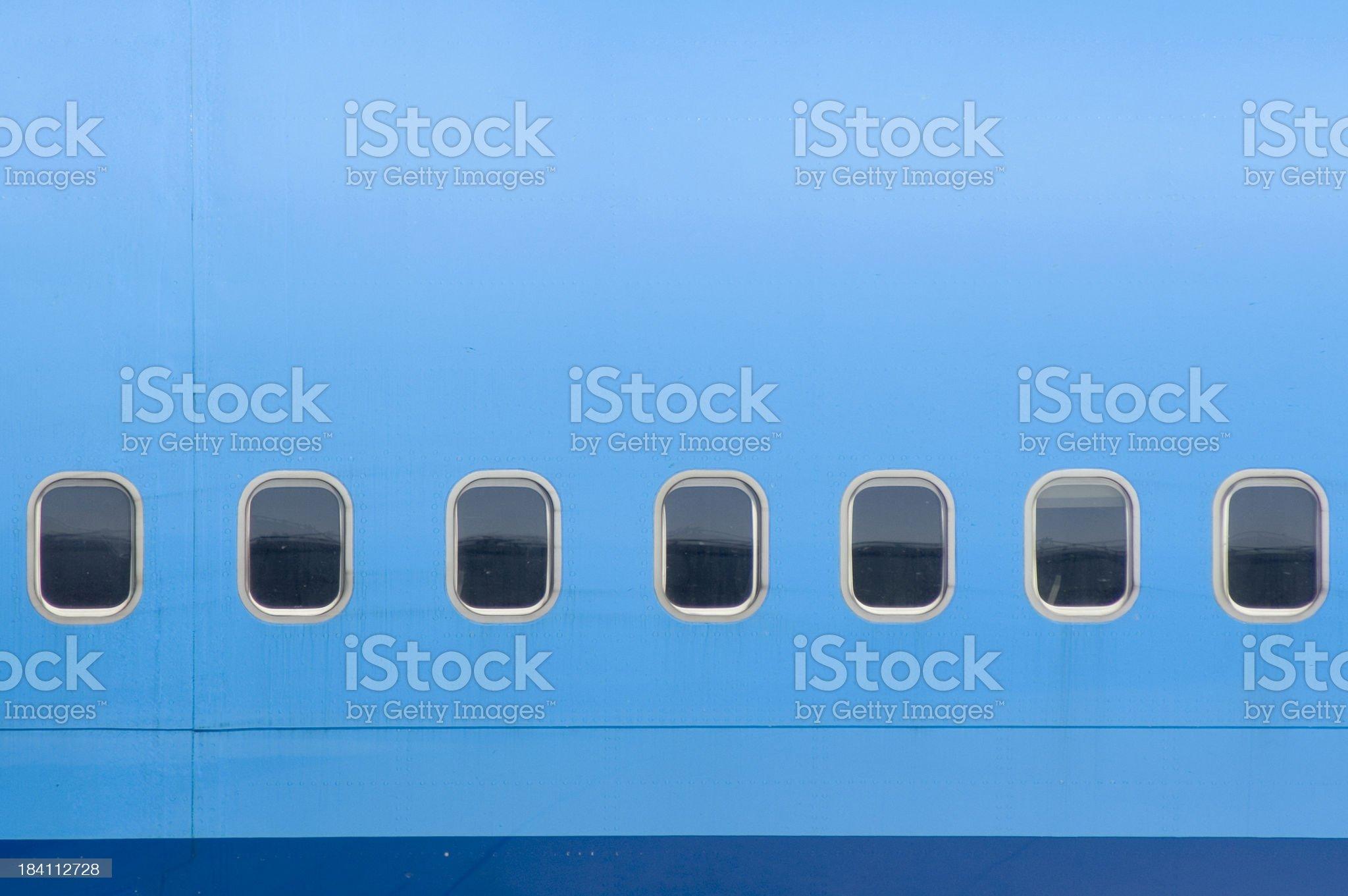 Seven windows royalty-free stock photo
