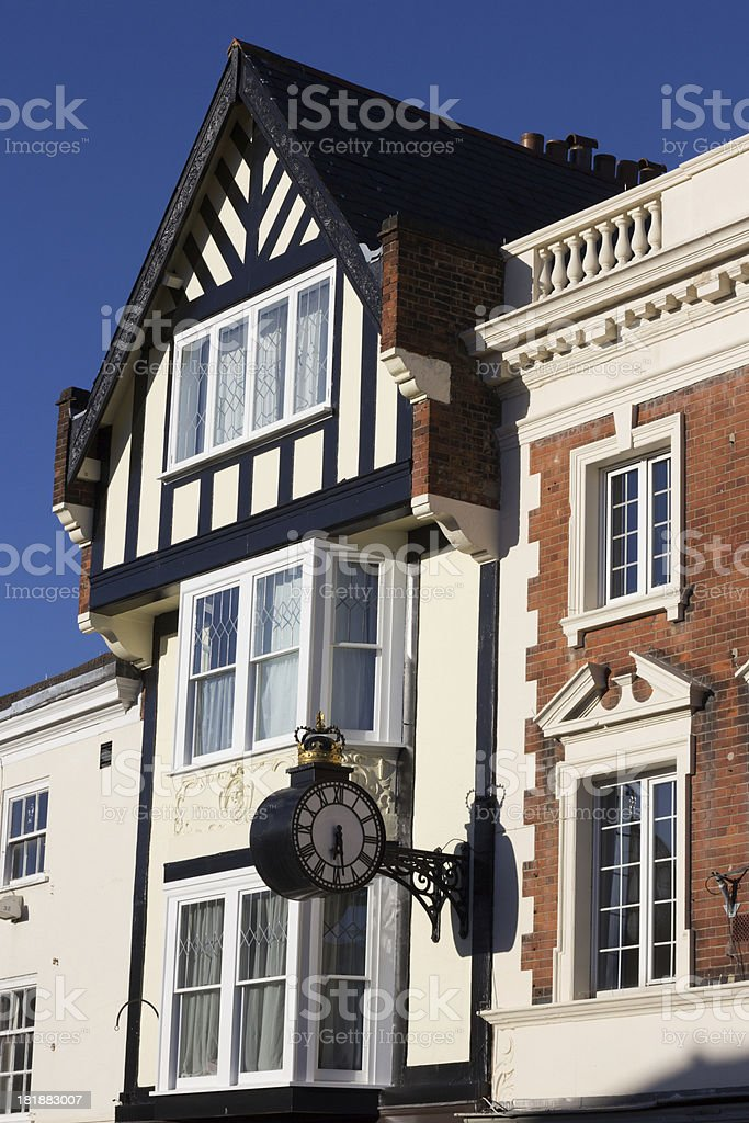 Sevenoaks in Kent, England royalty-free stock photo