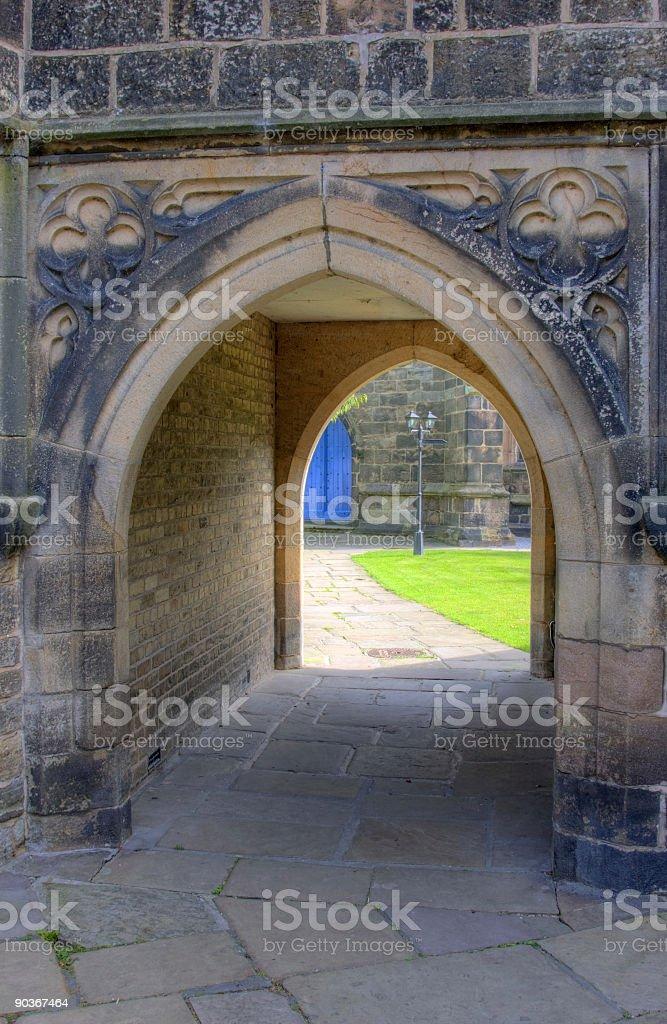 Seventeenth Century Archway royalty-free stock photo