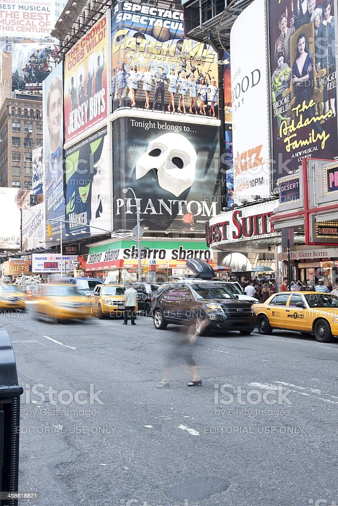 Seventh Avenue stock photo