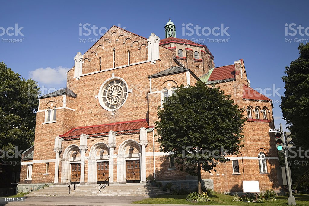 Seventh Day Adventist Church, Westmount, Quebec royalty-free stock photo