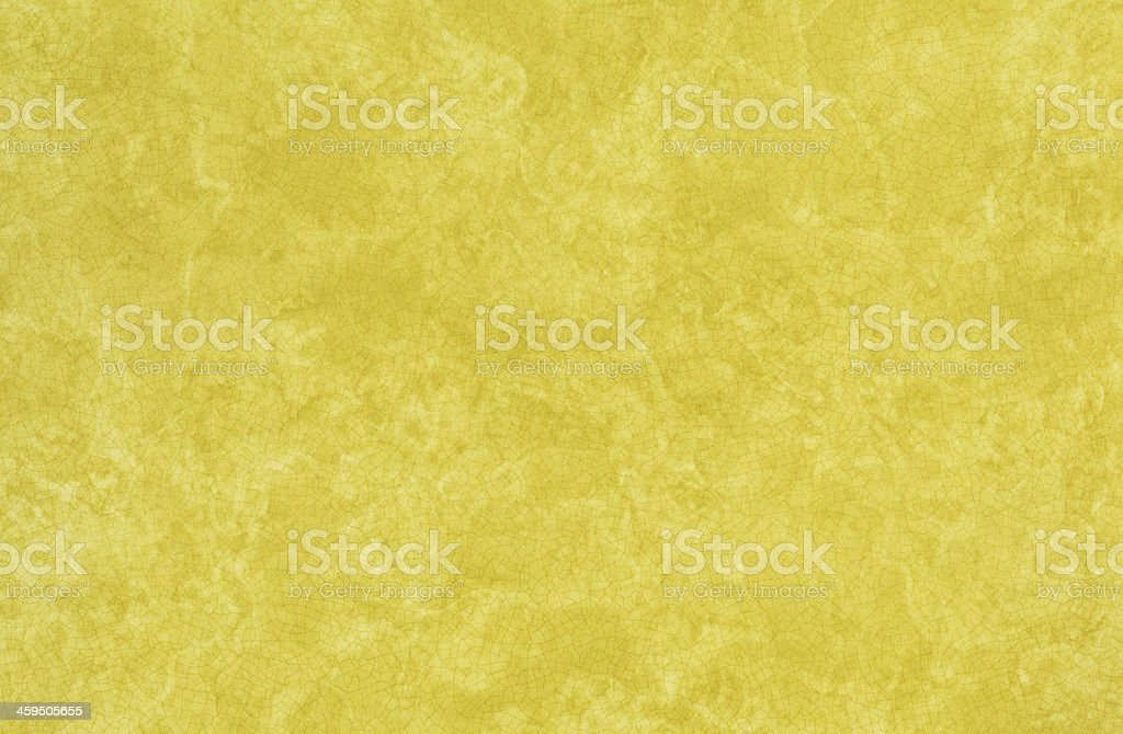 Seventies era Harvest Gold Plastic Laminate Kitchen Counter Top stock photo