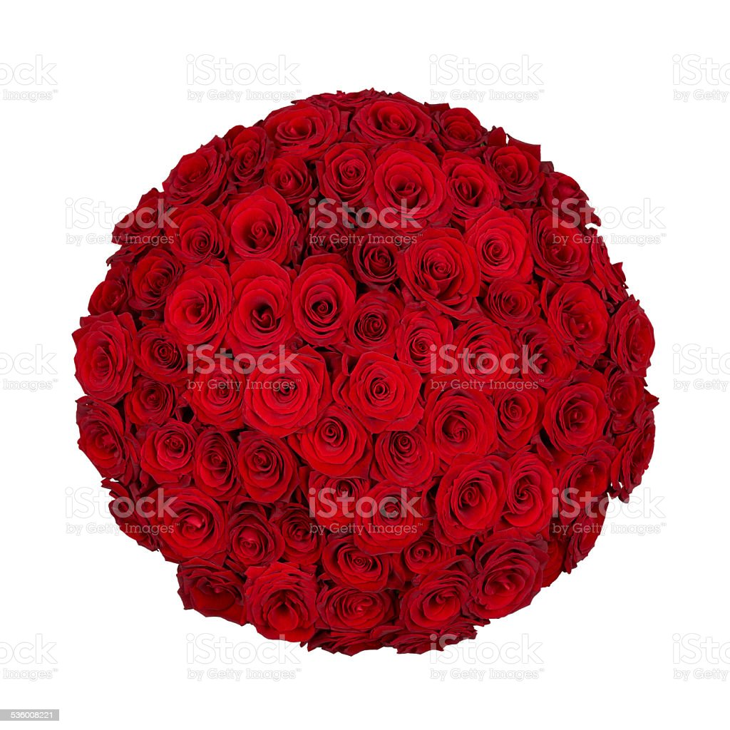 Seventy one roses stock photo