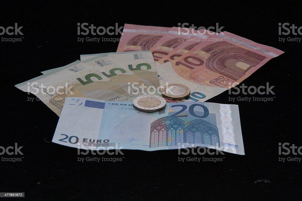 Seventy-eight Euro stock photo
