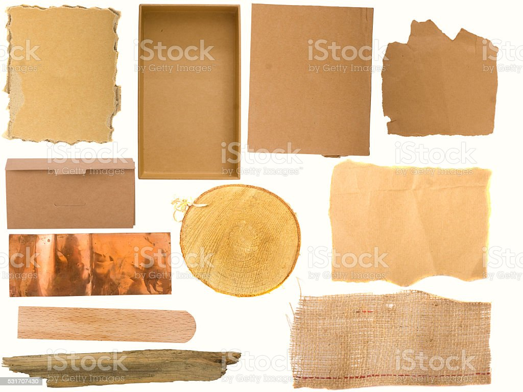 Several different backgrounds stock photo