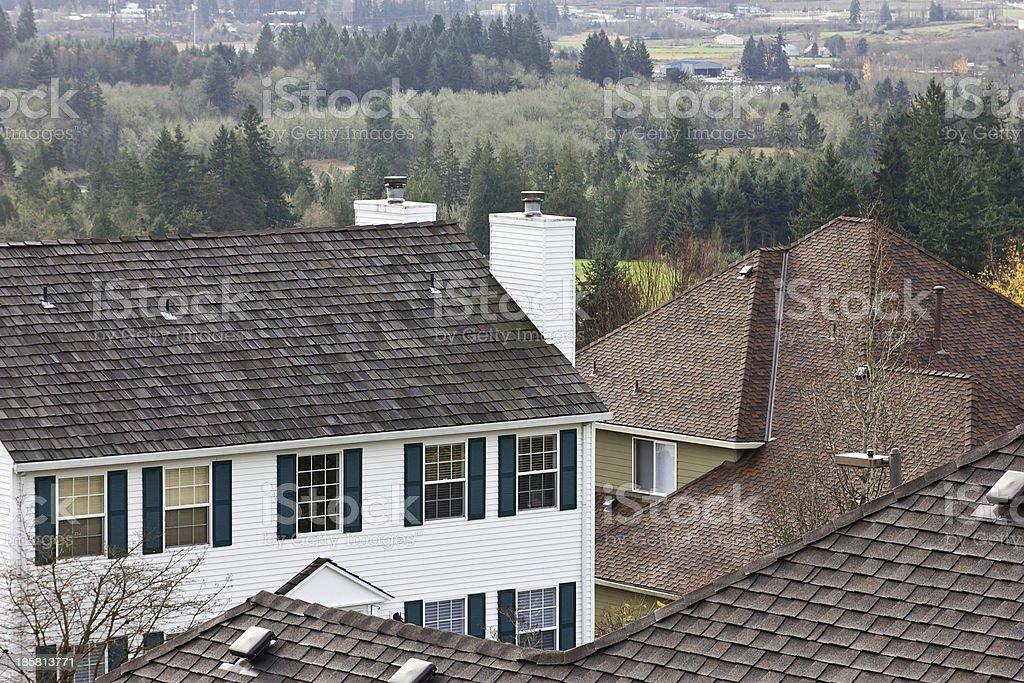 Several Homes royalty-free stock photo