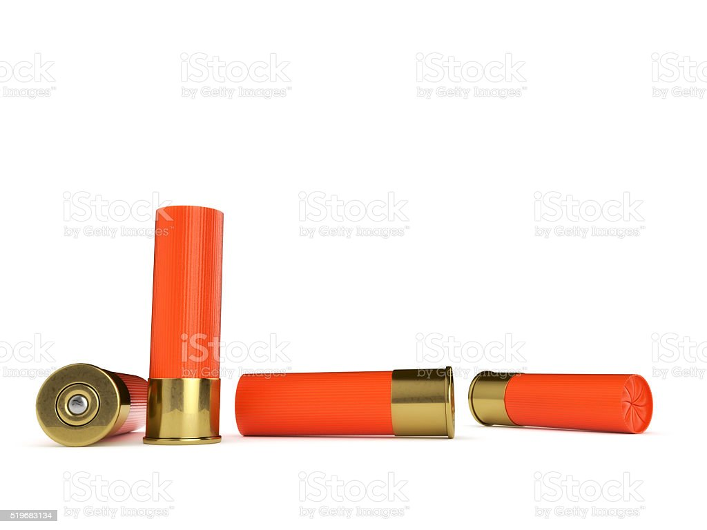 Several Shotgun Shells stock photo