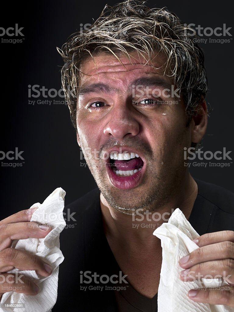 Severe Allergy stock photo