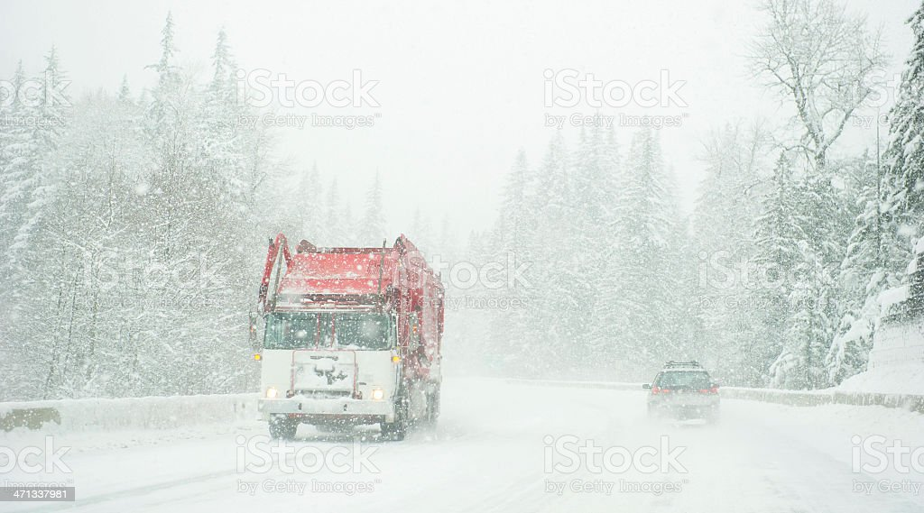 Severe Conditions royalty-free stock photo
