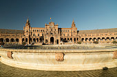 Sevilla (Andalucia, Spain): Plaza de Espana