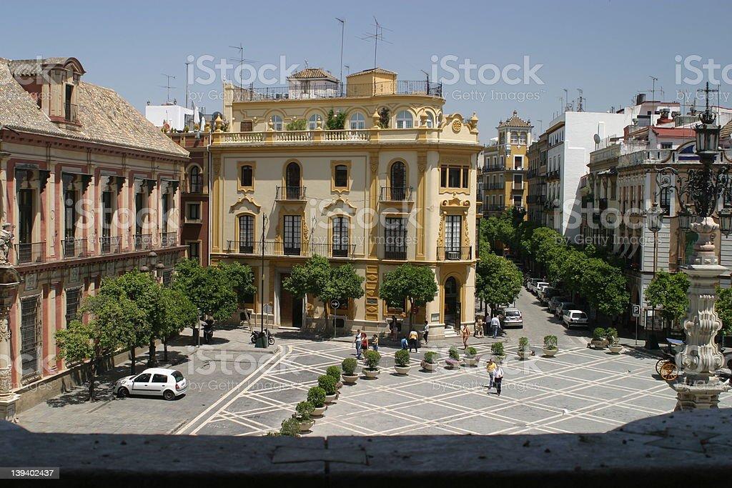 Seville 1 royalty-free stock photo