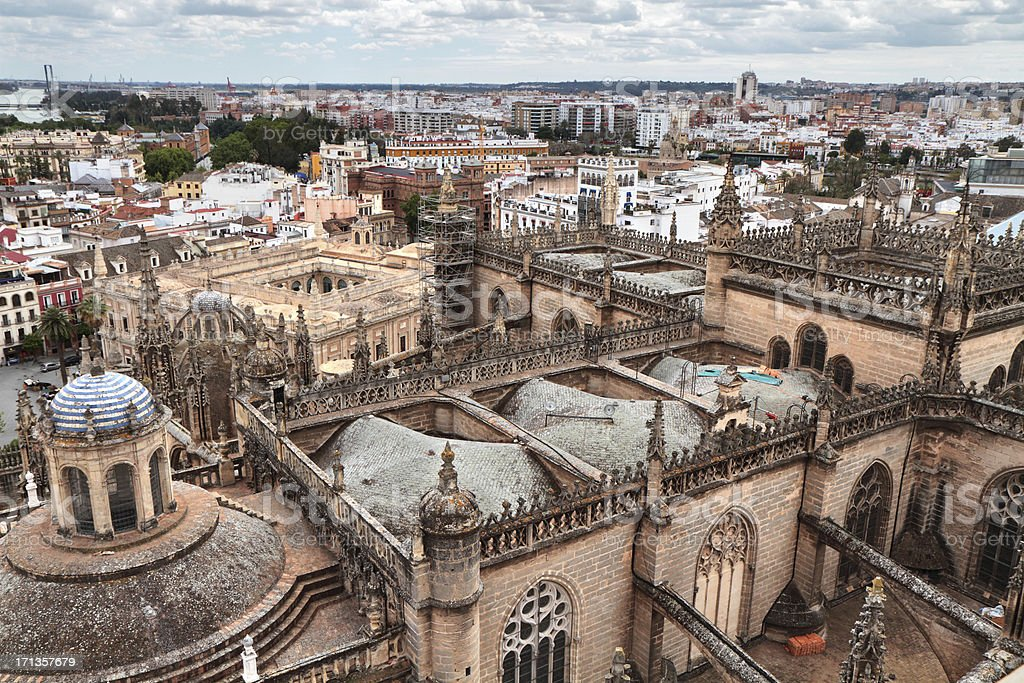 'Seville Catedral, Spain' stock photo