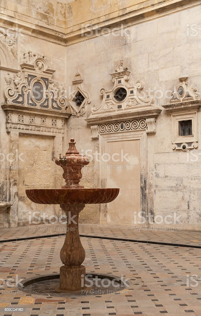 Seville Cathedral Interior stock photo