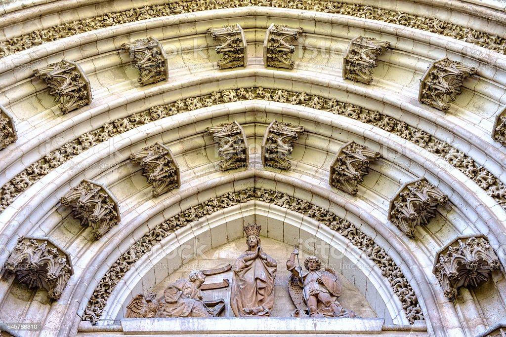 Seville Cathedral (CATEDRAL DE SEVILLA) stock photo
