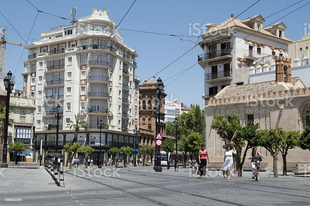 Seville in Spain. royalty-free stock photo
