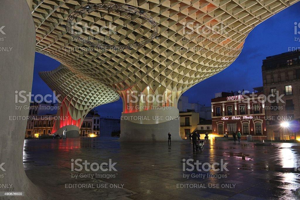 Seville landmark stock photo