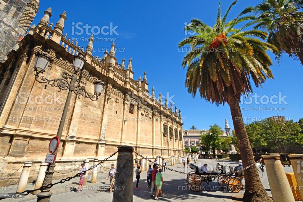 Seville stock photo