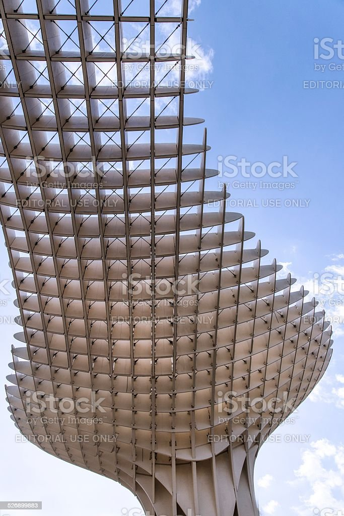 Seville, Spain, Metropol Parasol stock photo