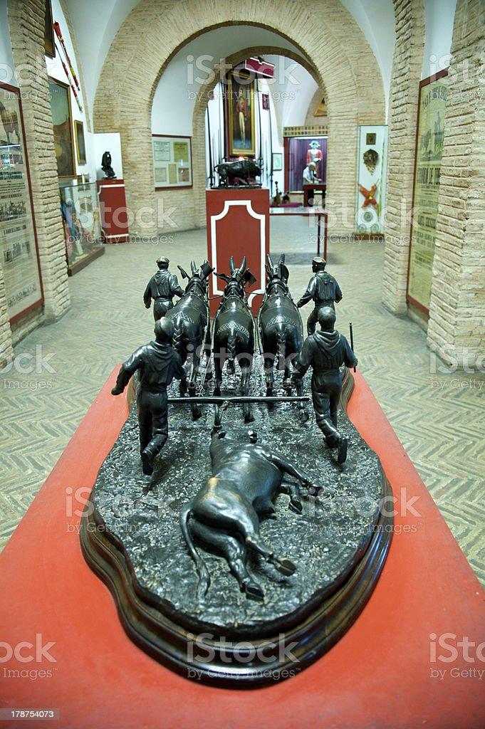 Seville Spain - Plaza de toros royalty-free stock photo