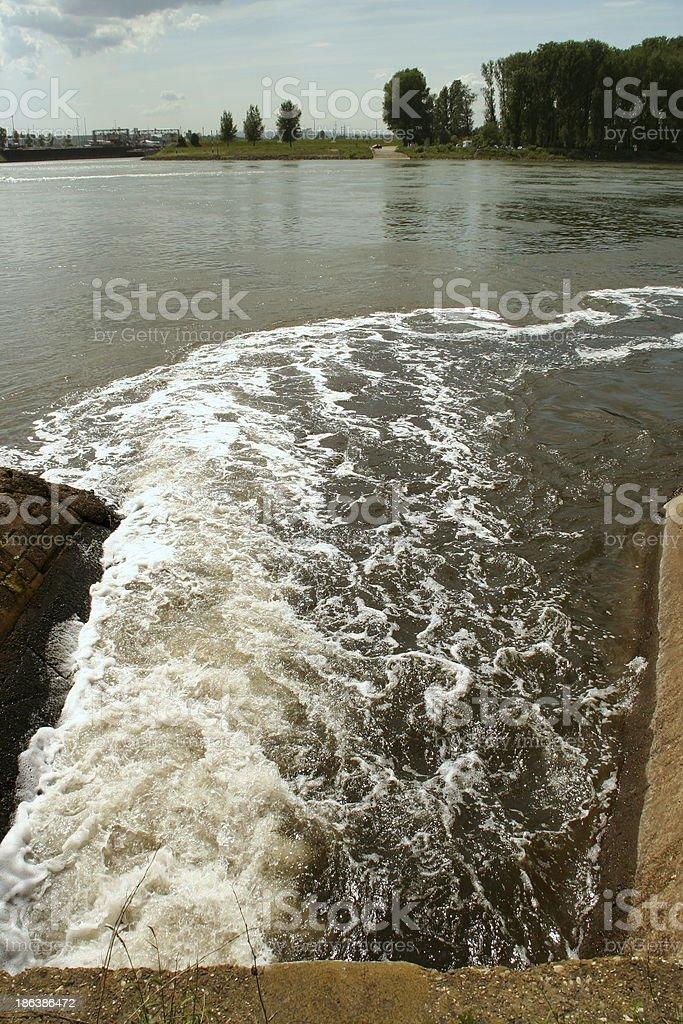 Sewage royalty-free stock photo