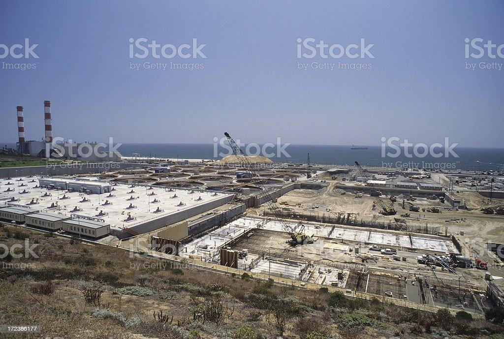 Sewage Purification Plant royalty-free stock photo