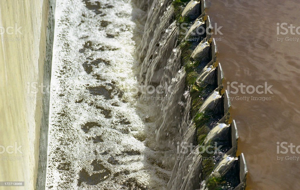 Sewage Treatment stock photo