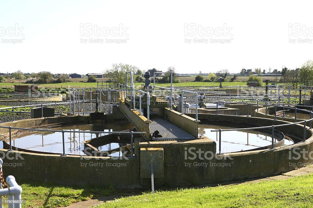 Sewage Treatment stock photo