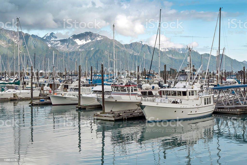 Seward ,Alaska stock photo