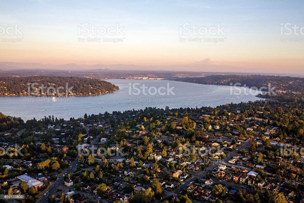 Seward Park (Seattle) stock photo