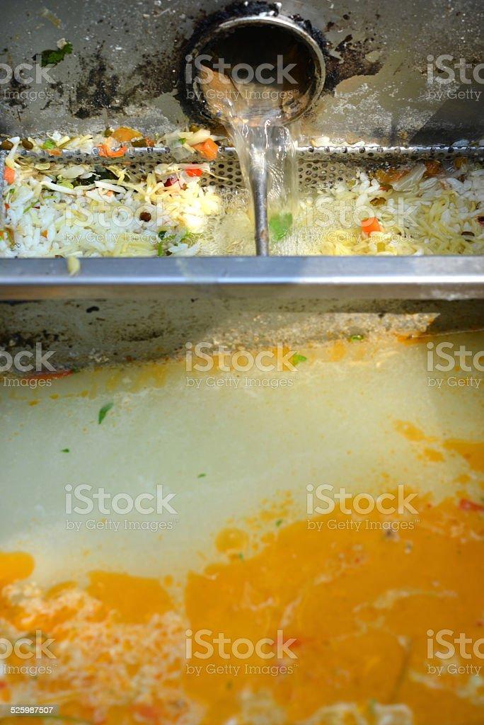 Sewer stock photo